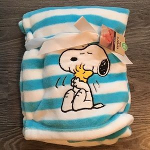 Snoopy Baby Blanket